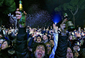 Roma - Notte di Capodanno